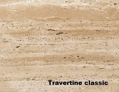 классический травертин