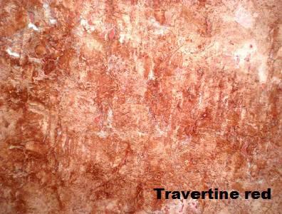 травертин red