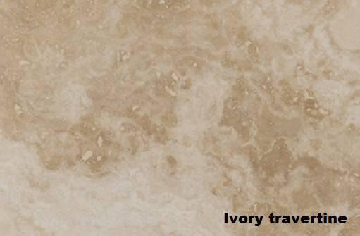 Травертин ivory
