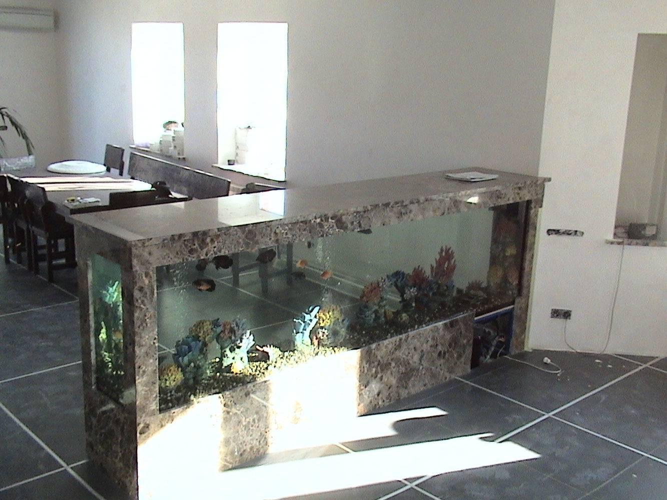 Аквариум из мрамора фото 2 — изелия и проекты от Bevers Marmyr