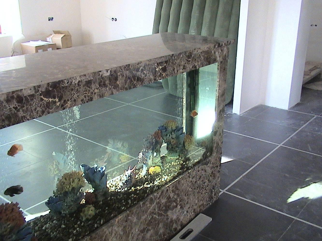Аквариум из мрамора фото 1 — изелия и проекты от Bevers Marmyr