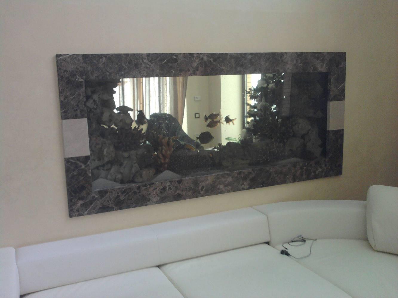 Аквариум со вставками из мрамора фото 1 — изелия и проекты от Bevers Marmyr