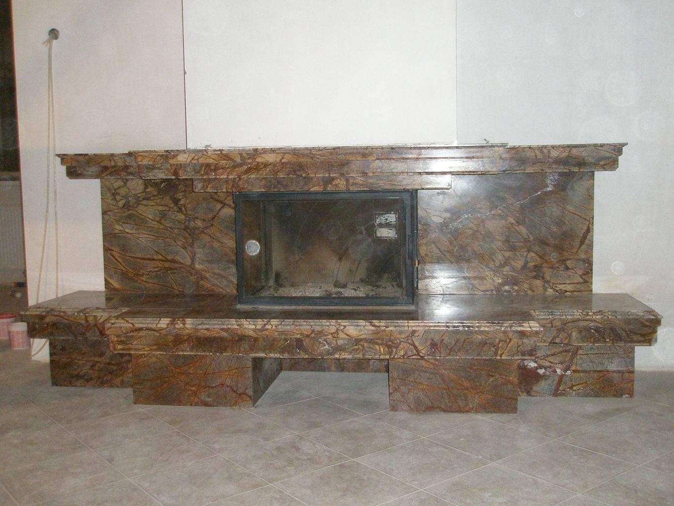 Мраморный камин-10 фото 2 — изелия и проекты от Bevers Marmyr