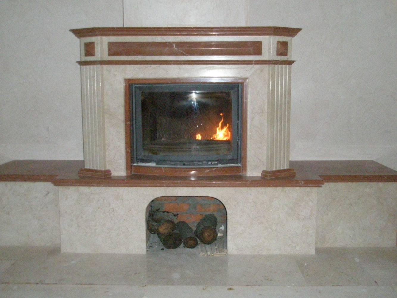 Мраморный камин-9 фото 1 — изелия и проекты от Bevers Marmyr