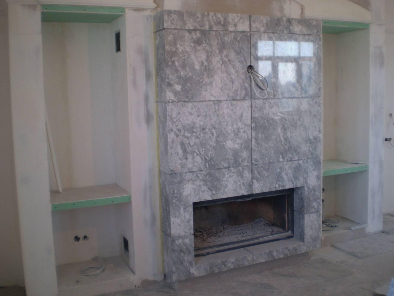 Камин из мрамора-7 фото 2 — изелия и проекты от Bevers Marmyr