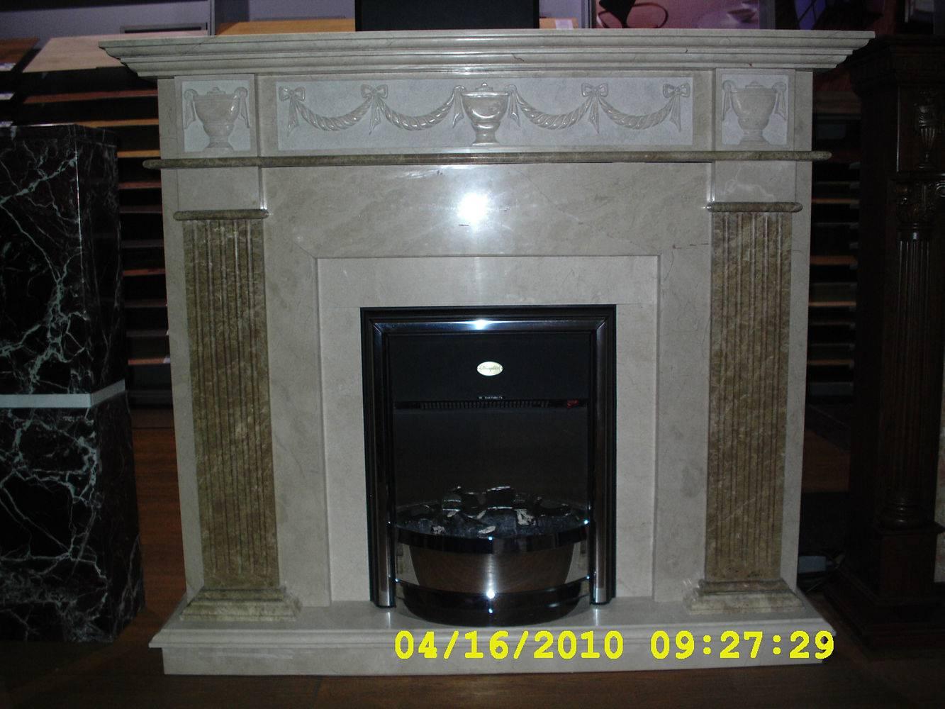 Камин из мрамора-6 фото 1 — изелия и проекты от Bevers Marmyr