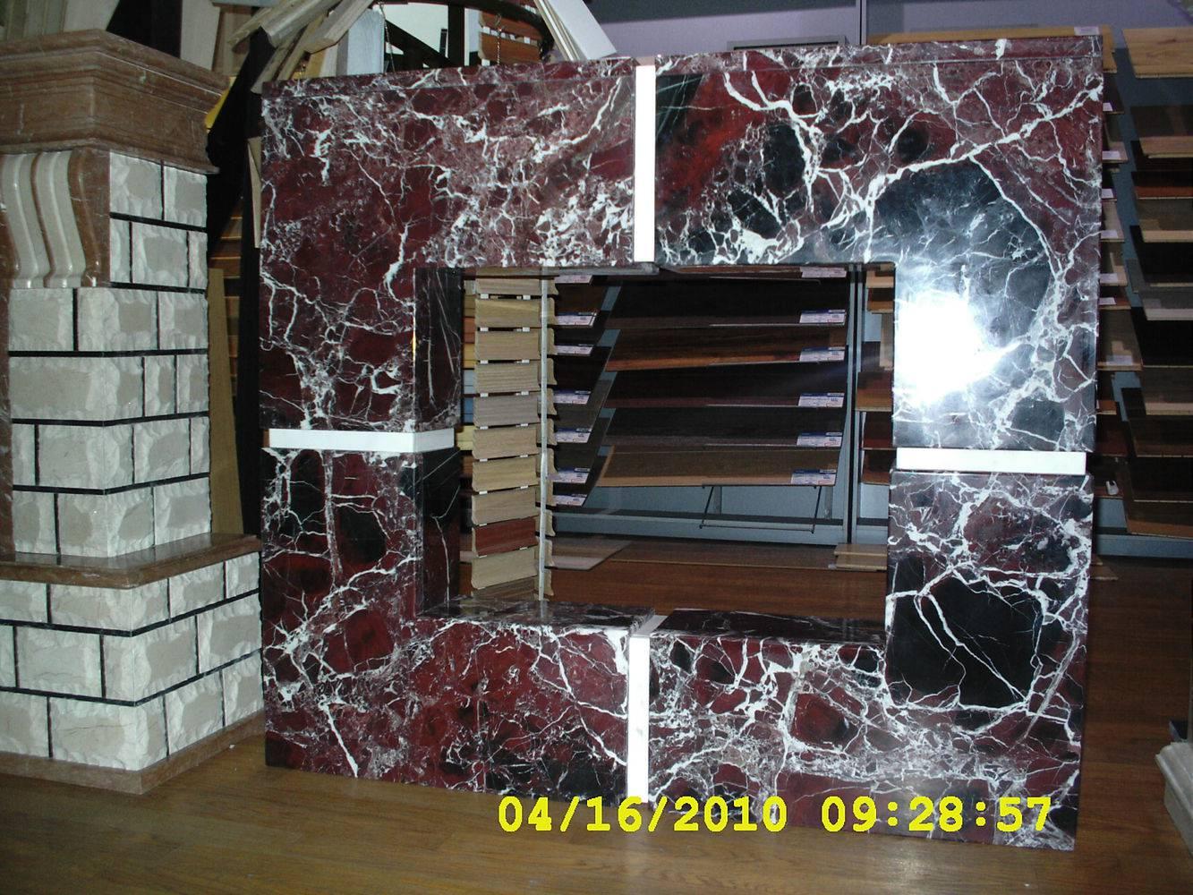 Камин из мрамора-5 фото 1 — изелия и проекты от Bevers Marmyr