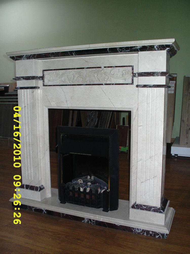 Мраморный камин-8 фото 1 — изелия и проекты от Bevers Marmyr