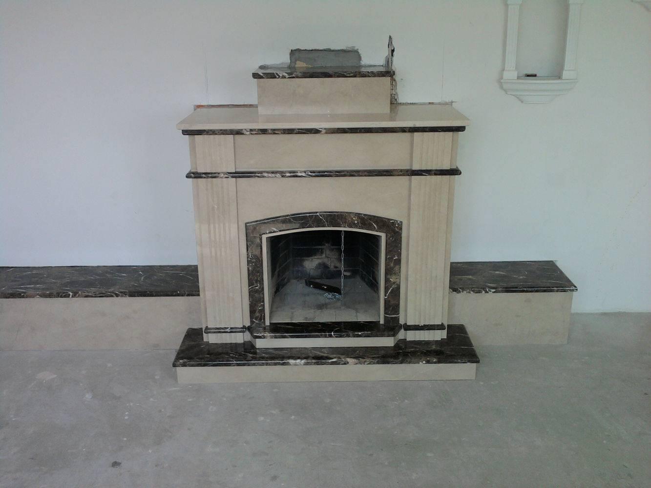 Мраморный камин-7 фото 1 — изелия и проекты от Bevers Marmyr