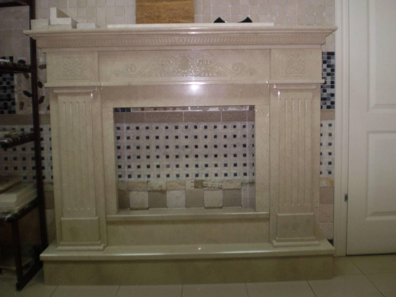 Камин из мрамора-3 фото 1 — изелия и проекты от Bevers Marmyr