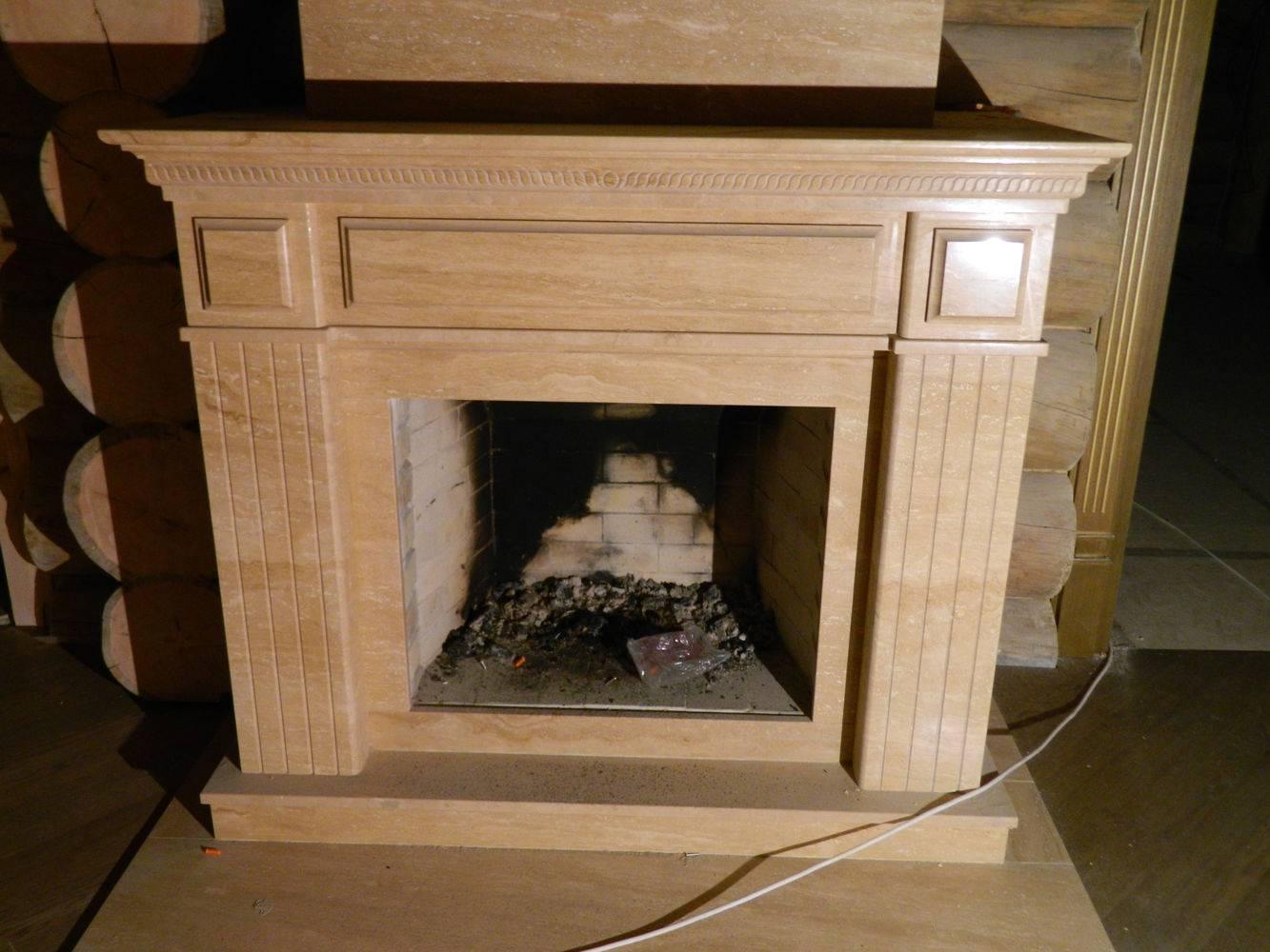 Камин из мрамора-2 фото 2 — изелия и проекты от Bevers Marmyr
