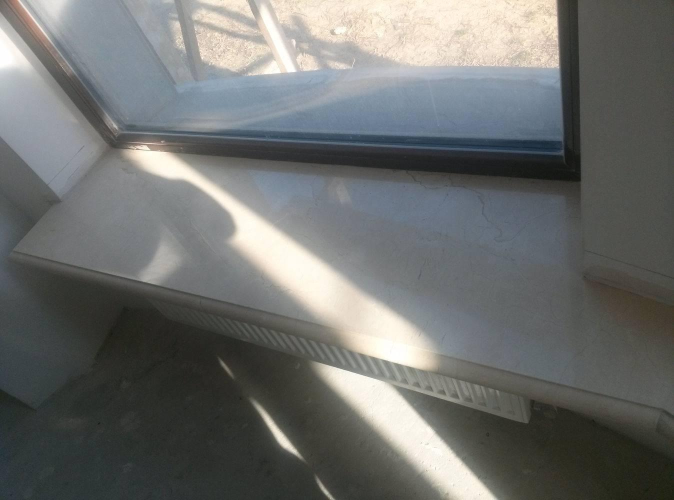 Подоконники из мрамора-2 фото 2 — изелия и проекты от Bevers Marmyr