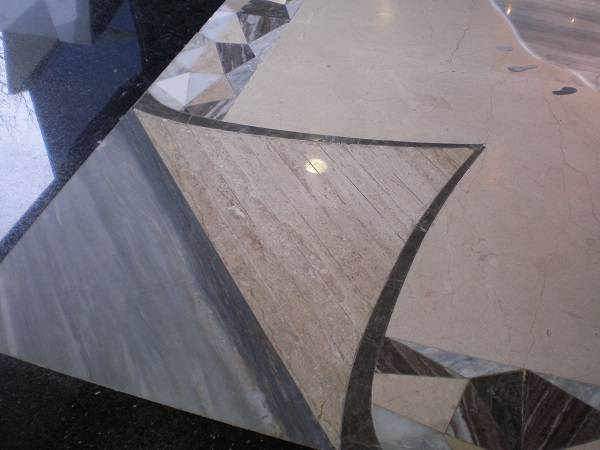 Ковёр мраморный фото 1 — изелия и проекты от Bevers Marmyr