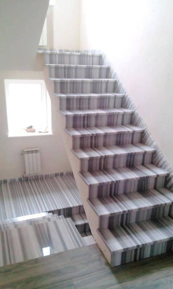 Лестница из мрамора-3 фото 1 — изелия и проекты от Bevers Marmyr