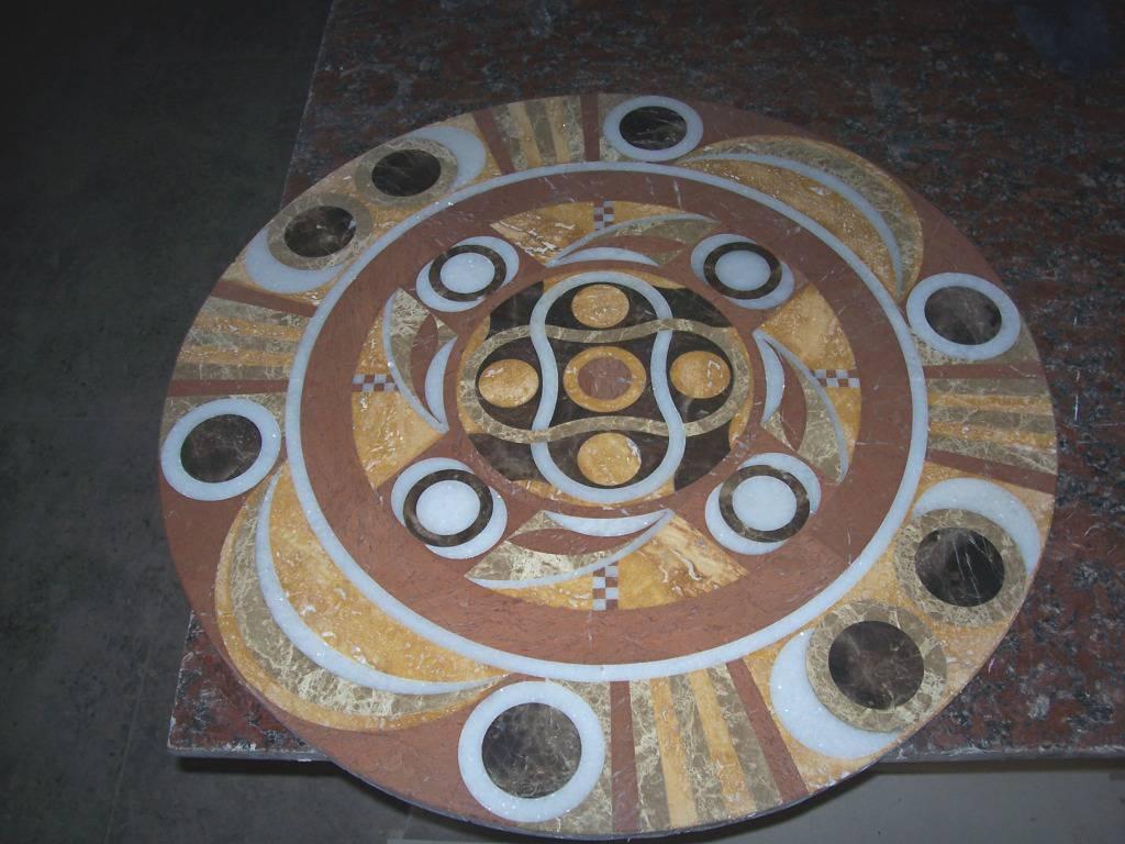 Мозаичное панно из мрамора-4 фото 1 — изелия и проекты от Bevers Marmyr
