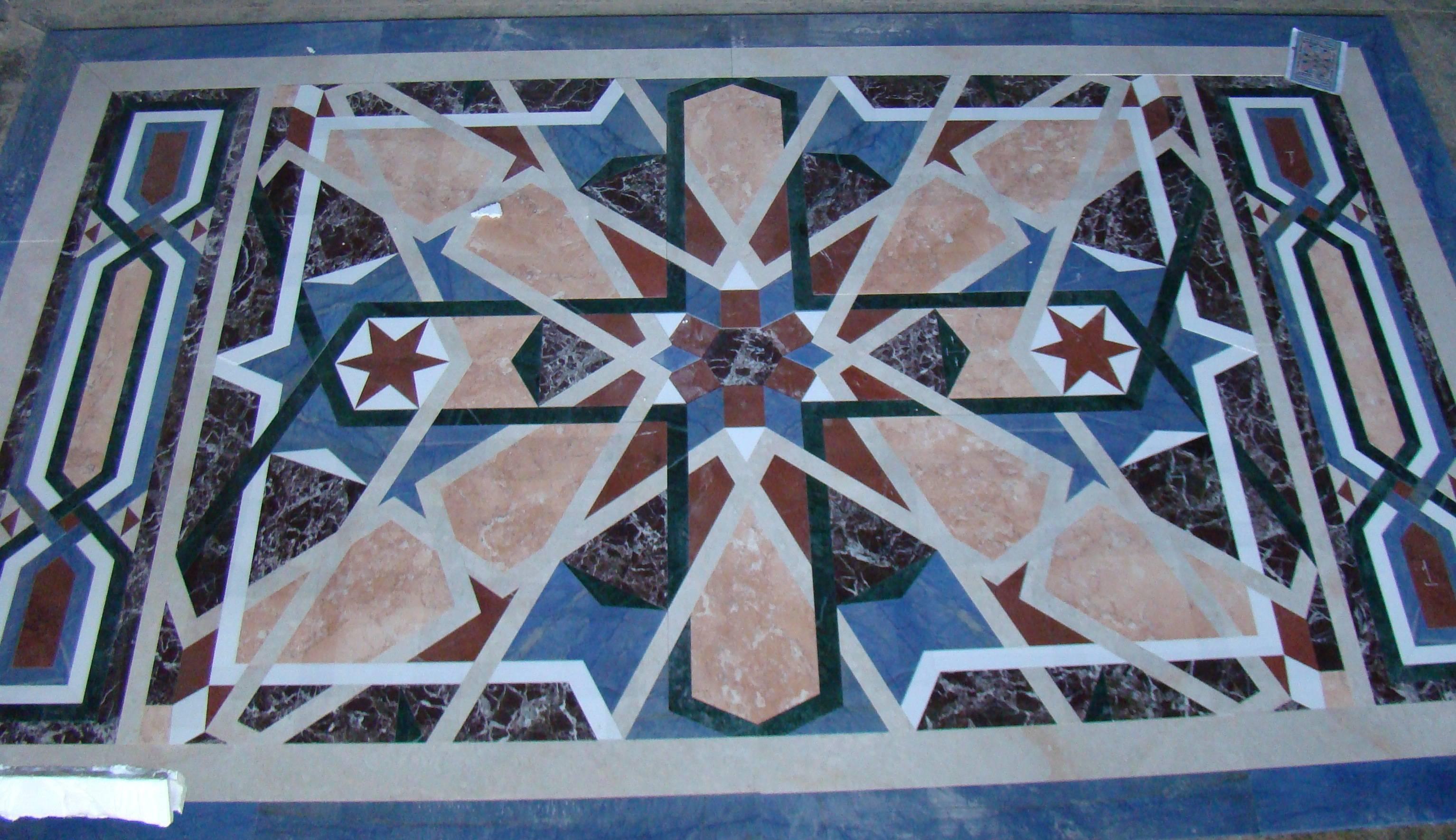 Мозаичное панно из мрамора-3 фото 1 — изелия и проекты от Bevers Marmyr