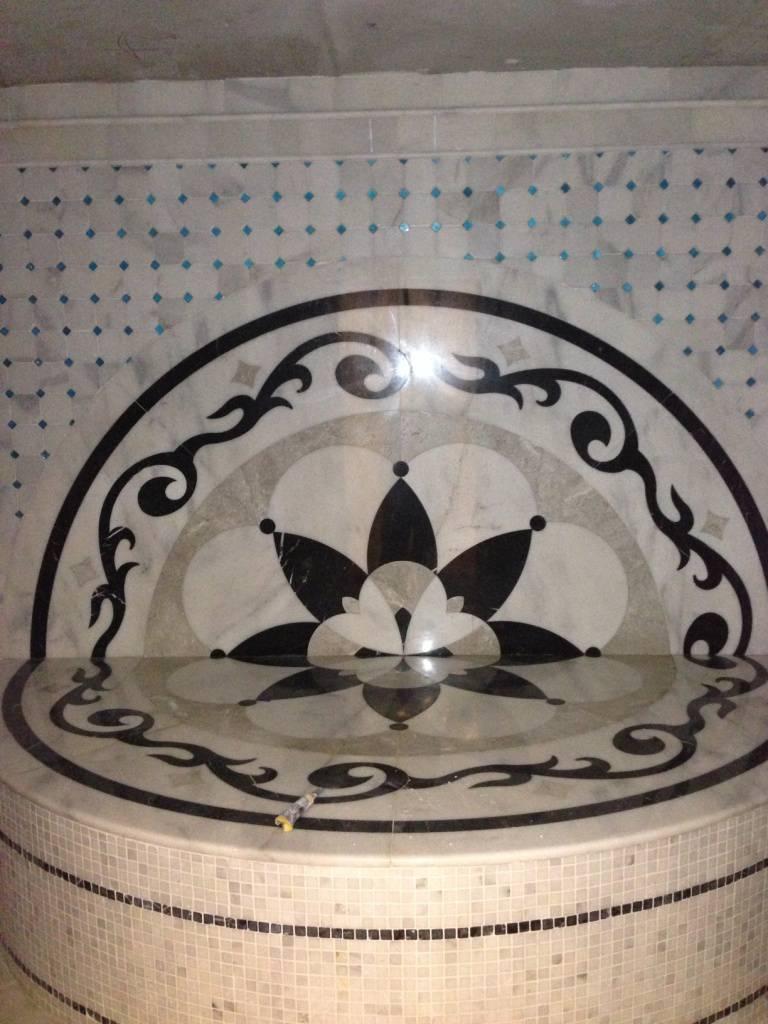 Мозаичное панно из мрамора-12 фото 1 — изелия и проекты от Bevers Marmyr