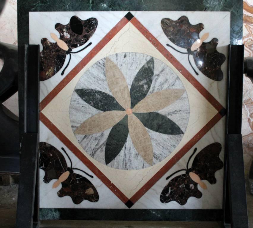 Мозаичное панно из мрамора-9 фото 1 — изелия и проекты от Bevers Marmyr