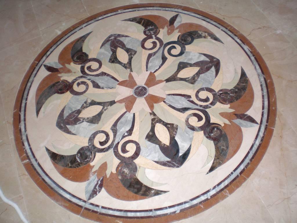Мозаичное панно из мрамора-8 фото 1 — изелия и проекты от Bevers Marmyr