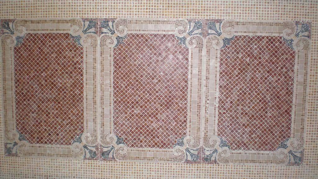 Мозаичное панно из мрамора-7 фото 1 — изелия и проекты от Bevers Marmyr