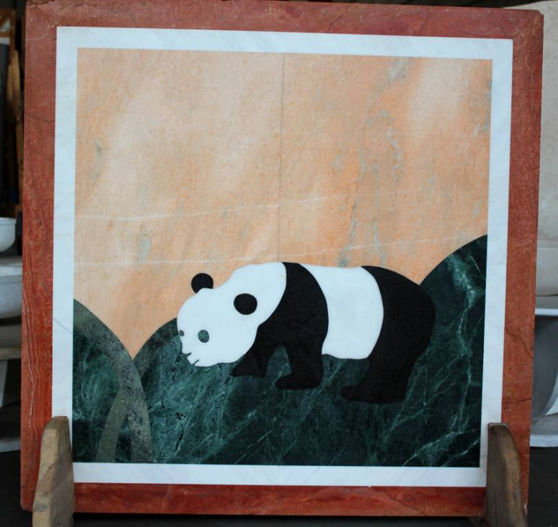 Мозаичное панно из мрамора-5 фото 1 — изелия и проекты от Bevers Marmyr