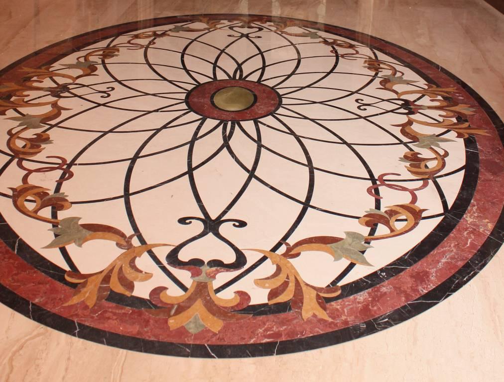 Мозаичное панно из мрамора-15 фото 1 — изелия и проекты от Bevers Marmyr