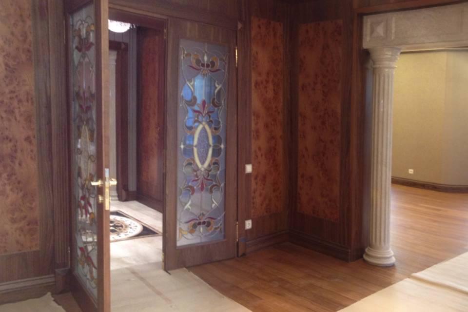 Облицовка дверного проёма мрамором фото 2 — изелия и проекты от Bevers Marmyr