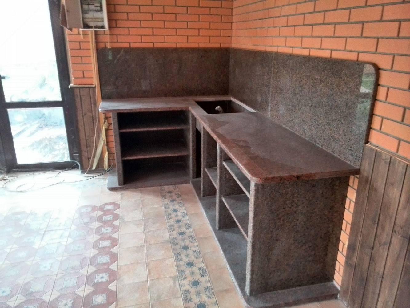 Столешница для кухни-3 фото 1 — изелия и проекты от Bevers Marmyr