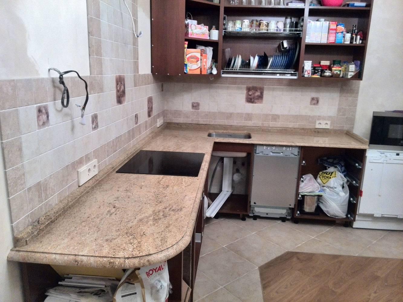 Столешница для кухни-2 фото 1 — изелия и проекты от Bevers Marmyr
