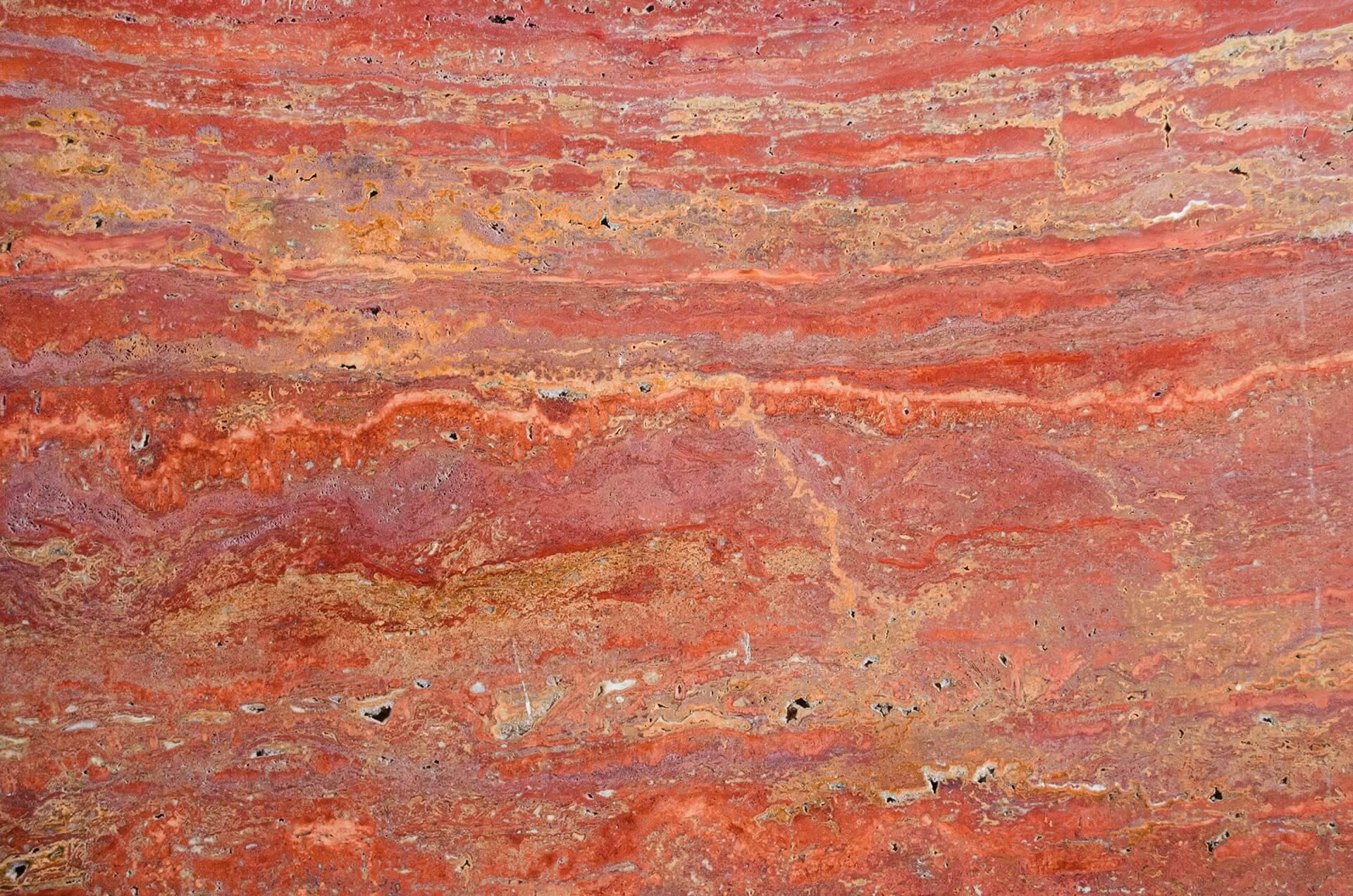Travertine Red фото 1 — камень от Bevers Marmyr