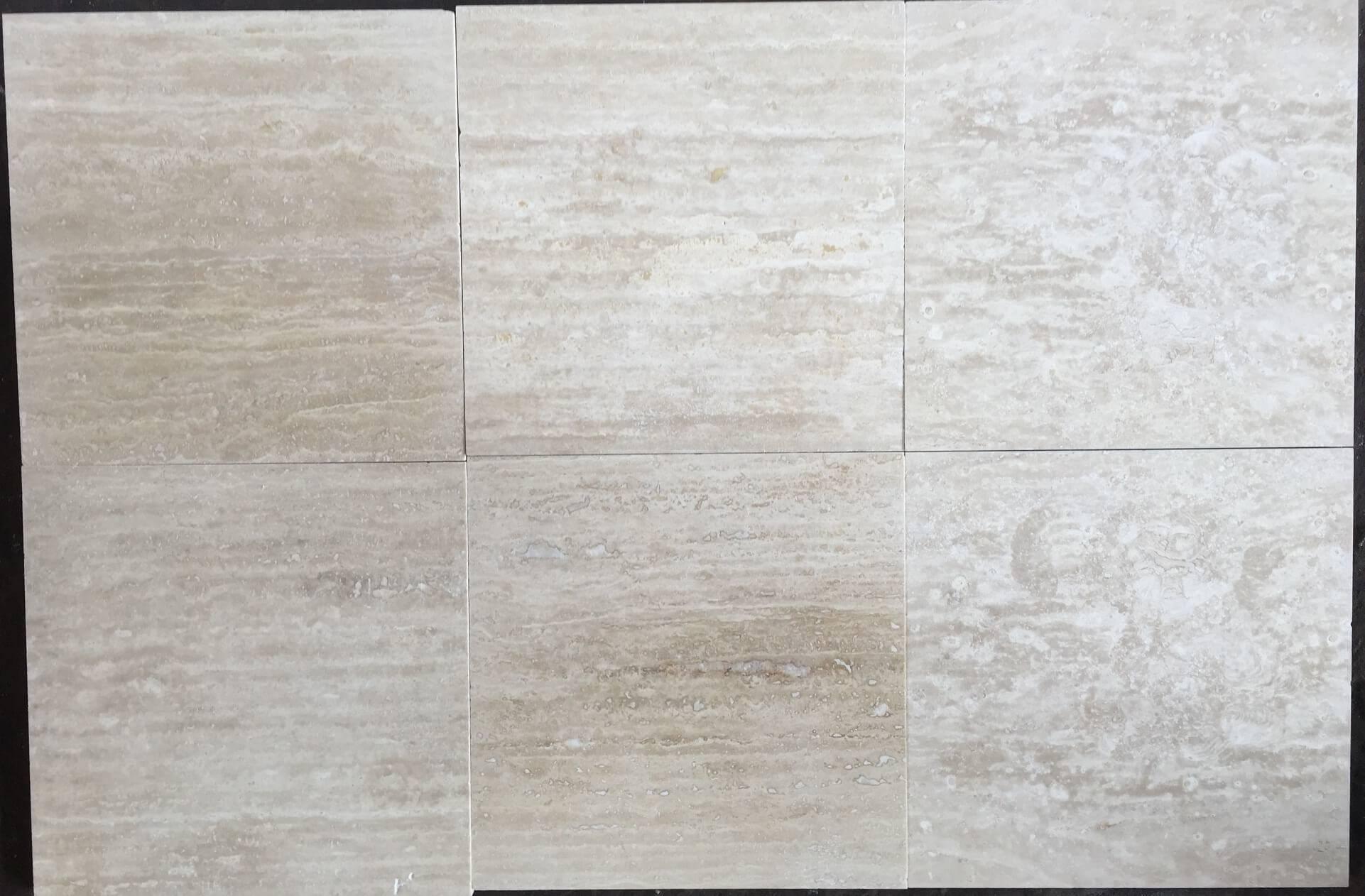 30,5x30,5 travertine vein-cut заполненный фото 1 — изелия и проекты от Bevers Marmyr