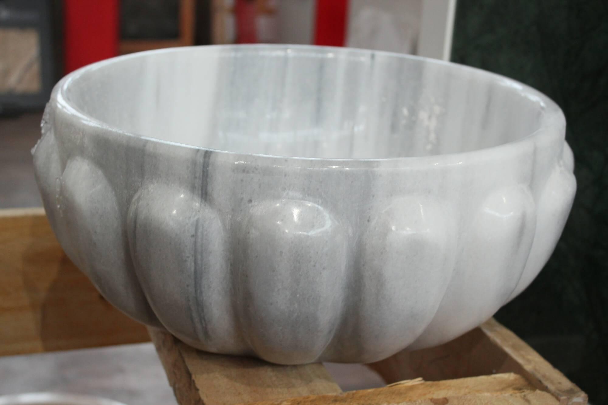 Круглая курна из мрамора, Турция фото 1 — изелия и проекты от Bevers Marmyr