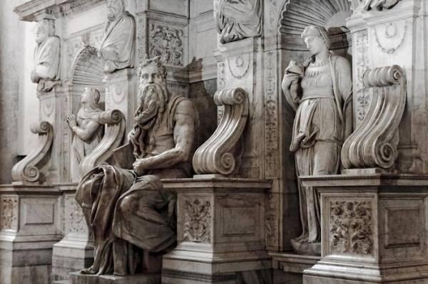 Мрамор Calacatta в скульптурах Микеланджело
