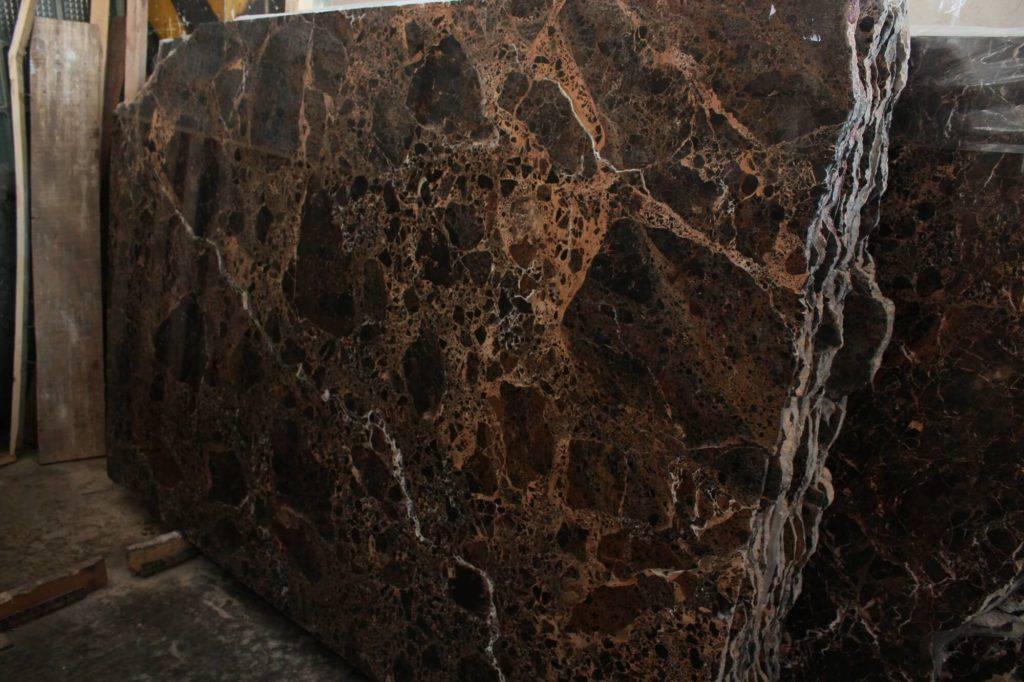 коричневый мрамор из Испании Emperador Dark