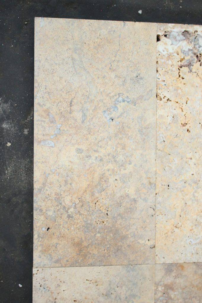 Травертиновая плитка Scabos 15х30