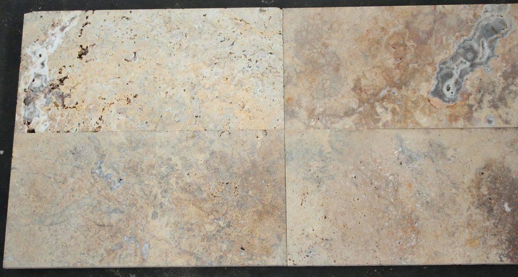 Травертиновая плитка Scabos 15х30 фото 1 — изелия и проекты от Bevers Marmyr