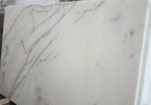 Белый мрамор Mugla Ibiza White в слябах 2 см
