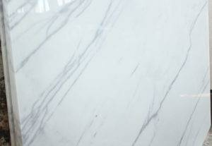 Белый мрамор Mugla Ibiza White в слябах 3 см
