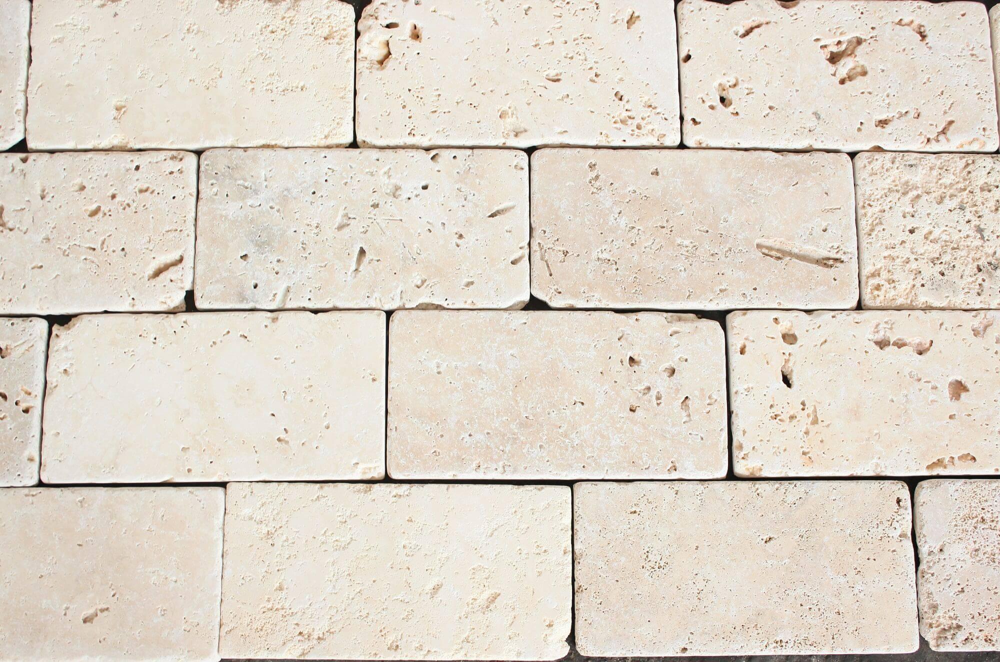 Травертиновая плитка 10х20 фото 1 — изелия и проекты от Bevers Marmyr
