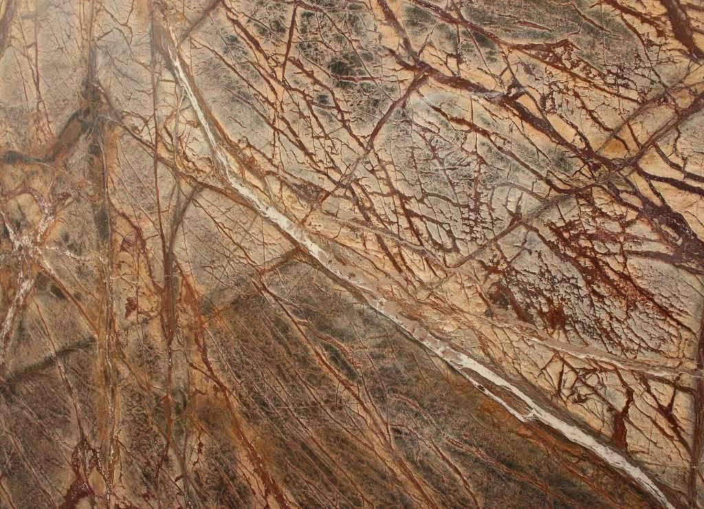 купить каменную столешницу из мрамора BIDASAR BROWN