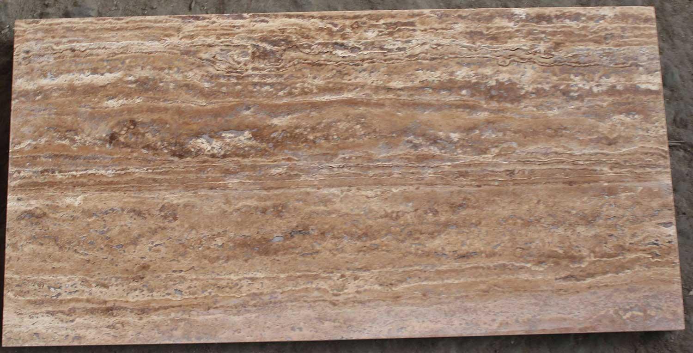 Плитка полированная из TRAVERTINE NOCHE, размером 30х60 фото 1 — изелия и проекты от Bevers Marmyr