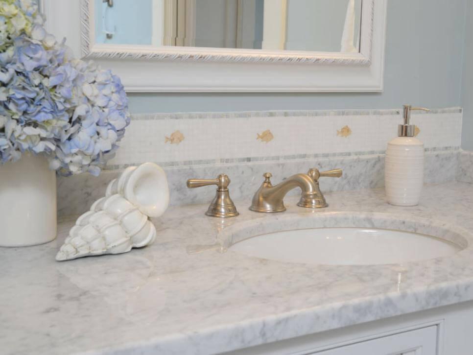 каменные столешницы для ванной