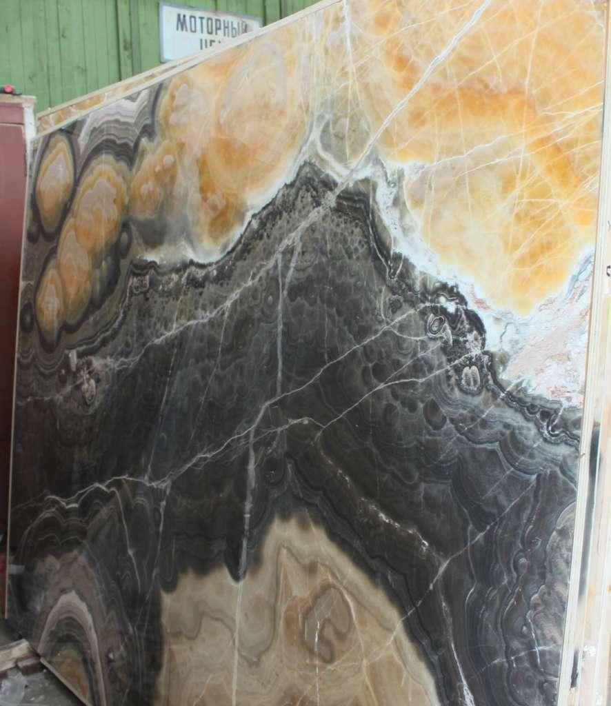 Mexican Оникс в книжной полировке