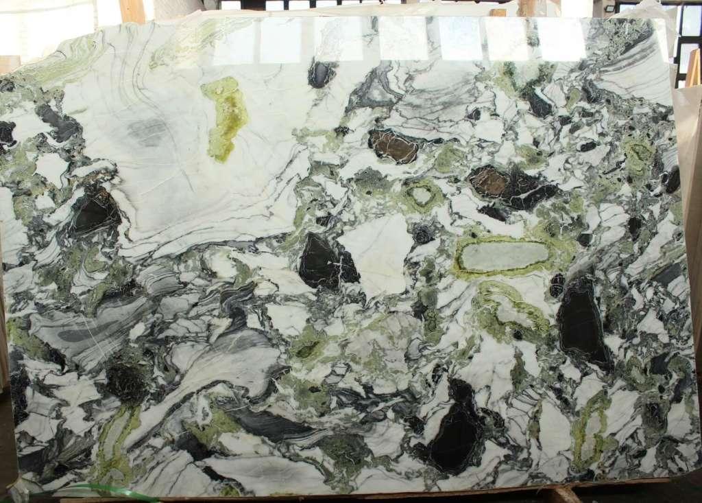 столешницы из мрамора Ocean Green на заказ