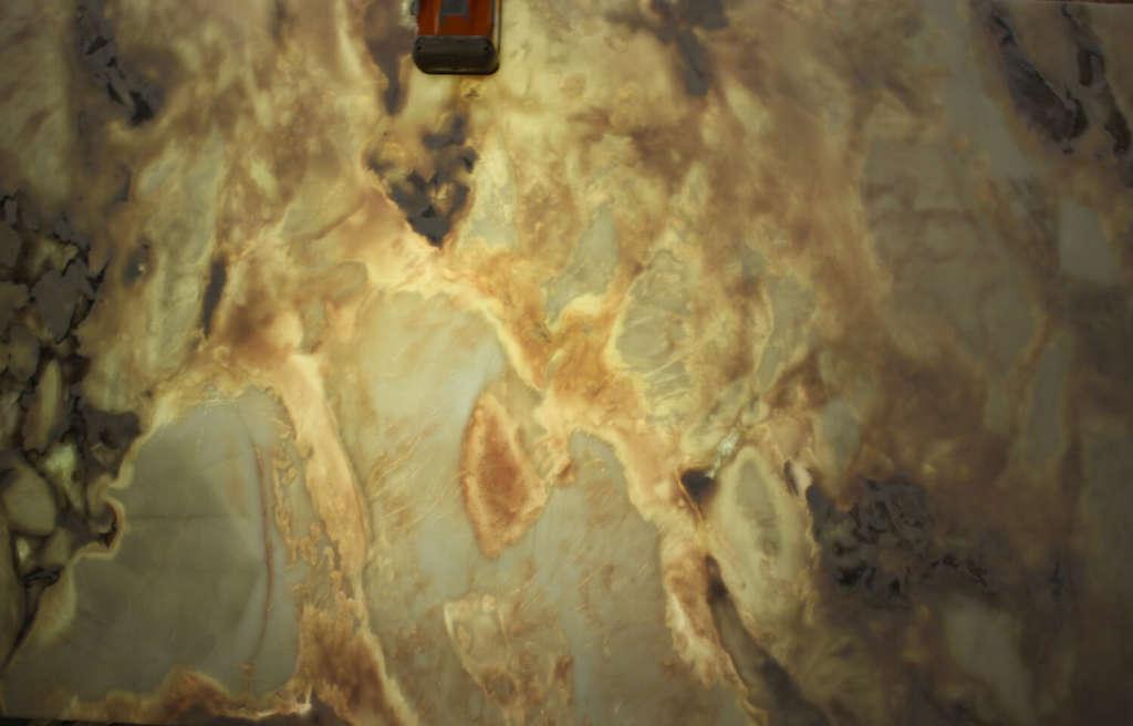 Итальянский мрамор Oyster с подсветкой