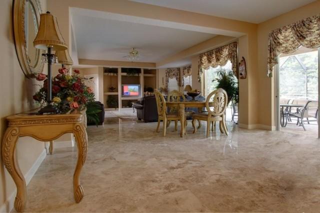 Підлога з мармуру Cappuccino