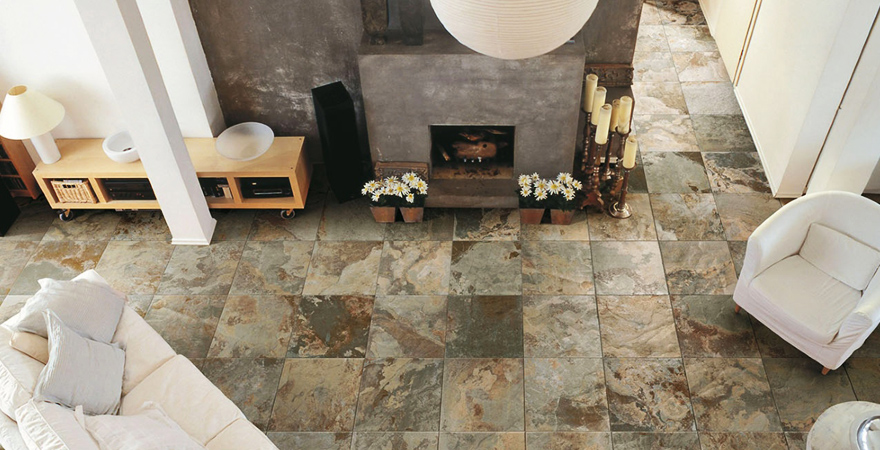 Підлога з натурального каменю