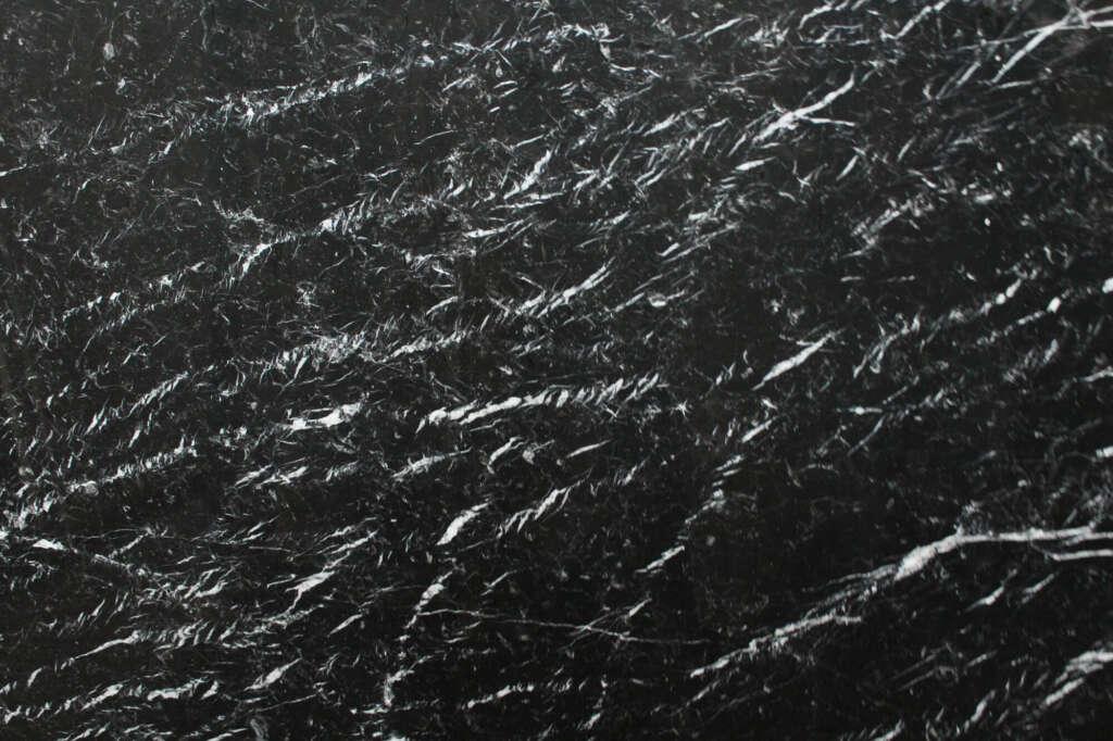 Чорний мармур Nero Marquina в книжній поліровці з Іспанії