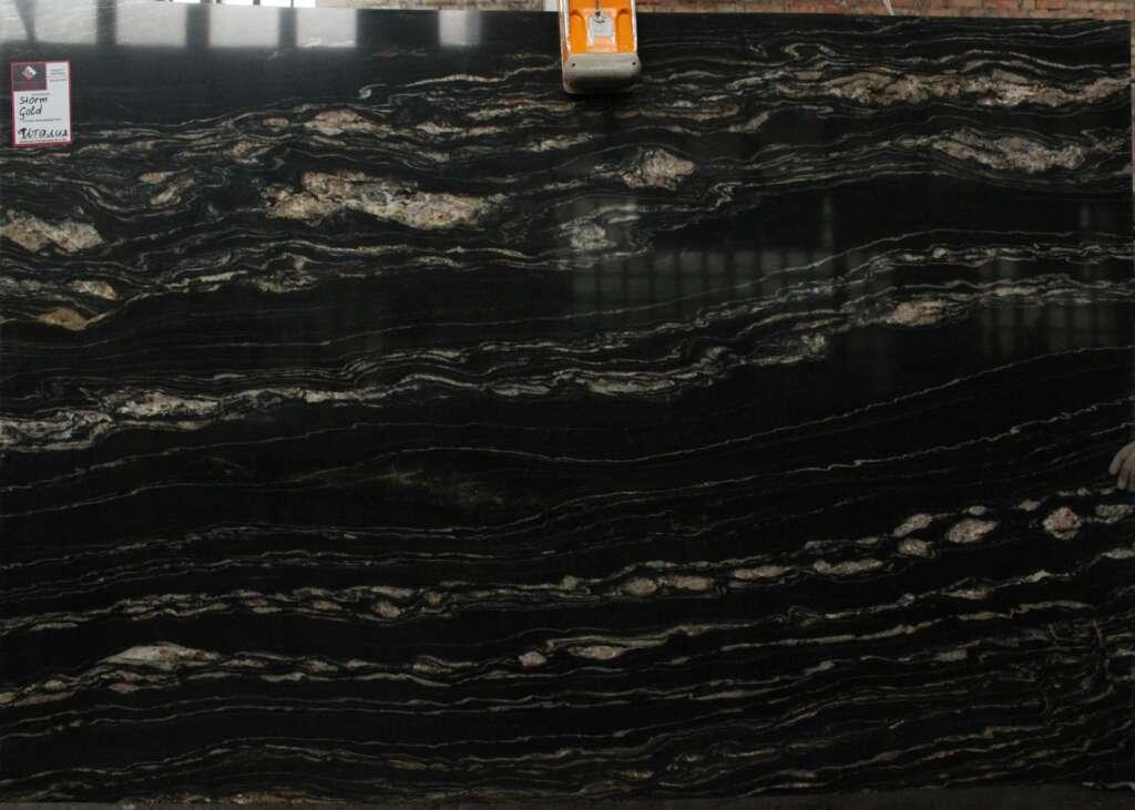 Чорний граніт Tropical Storm