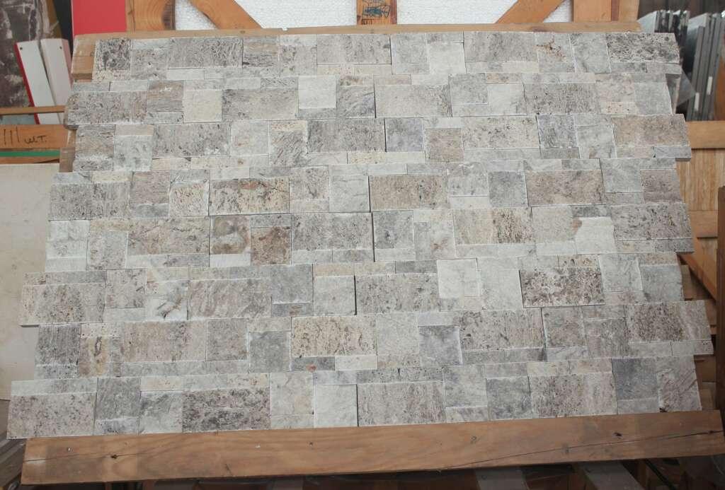 Фасадная плитка з травертину